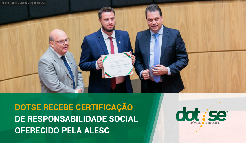 dotse-recebe-certificacao-de-responsabilidade-social-oferecido-pela-alesc